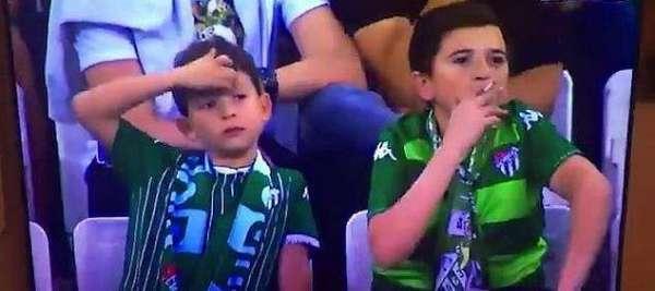 Turkish Minor Seen Smoking At Football Stadium Turns Out To Be 36-Year-Old-Man