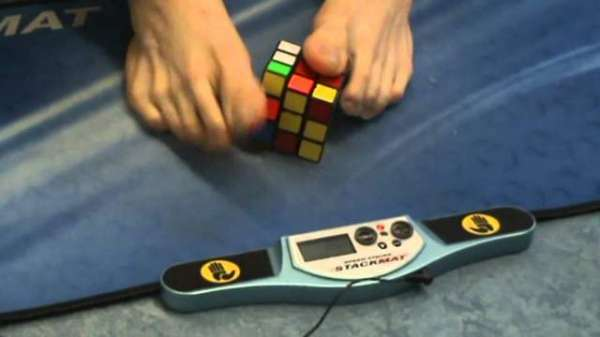 Solving Rubik's Cubes With Your Feet Is No Mean Feat