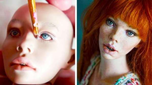 Russian Couple Create The Most Amazing Human-Like Dolls