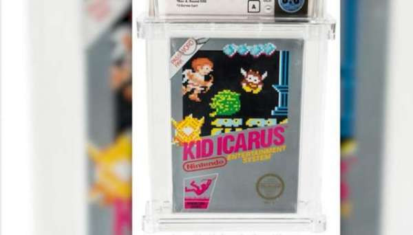 Sealed Copy Of Nintendo Game Sells For $9,000 In Online Auction