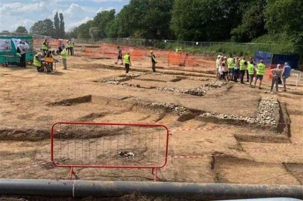 Entire Ancient Roman Town Discovered Off A Highway In England