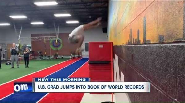Man Jumps 64 Inches Vertically To Break Guinness World Record