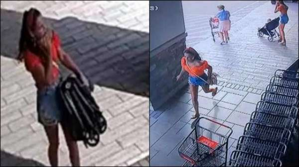 Woman Steals Stroller From New Jersey Store, Forgets Her Child Behind. CCTV Video Goes Viral