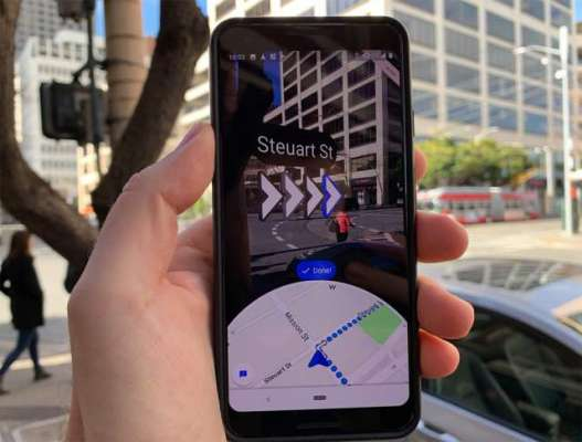 Google adds Live View, AR directions for Google Maps