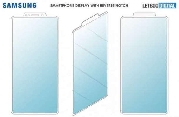 Samsung patents a reverse notch display