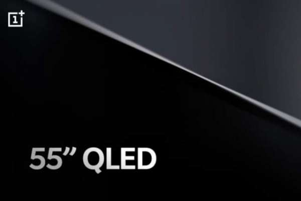 OnePlus TV partial specs include Android 9.0 Pie, QLED display, 4K support