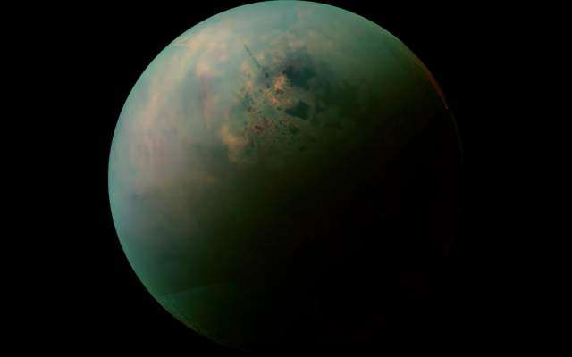 Astronomers create first global map of Saturn's moon Titan